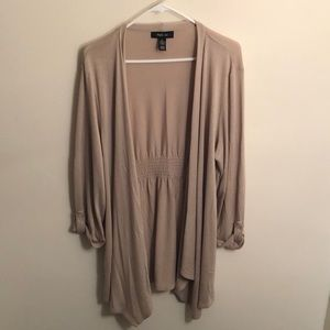 Open Front, Flowing Cardigan